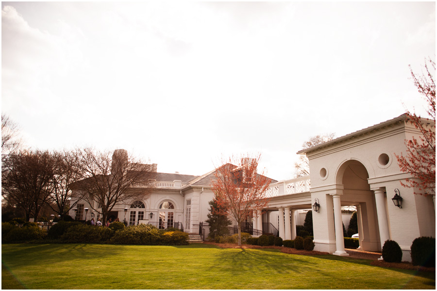 Quail Hollow Country Club Luxury Wedding